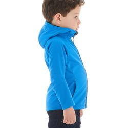 Chaqueta Softshell de senderismo KID azul