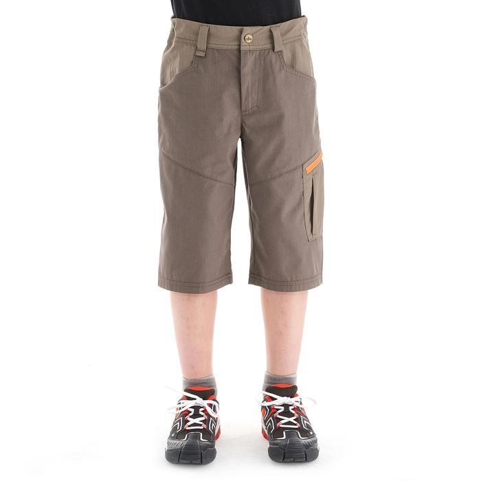 Short de senderismo niños Hike 500 marrón