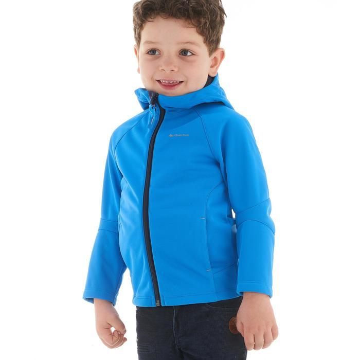 Softshelljacke Kinder blau