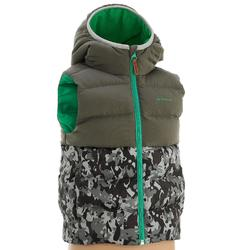 CN X-Warm Children's Hiking Padded Gilet - Grey