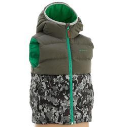 X-Warm 兒童健行運動襯墊式背心 灰色