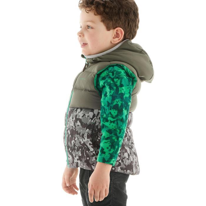Bodywarmer wandelen voor kinderen X-Warm grijs