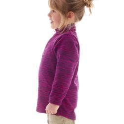 Wandelfleece voor kinderen MH120 paars