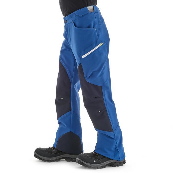 Pantalon de randonnée enfant MH 550 bleu