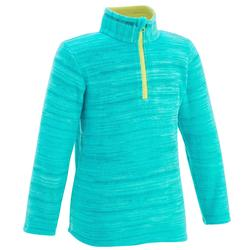 MH120 Kids' Hiking Fleece - Turquoise