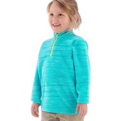 MH120 Kids' Hiking Fleece - Turquoise