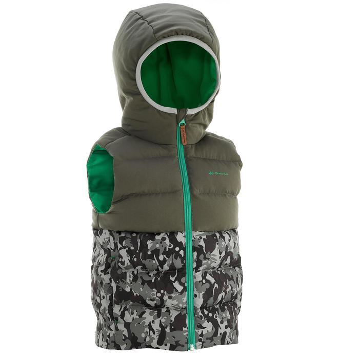 CN Gilet doudoune de randonnée enfant X-Warm gris