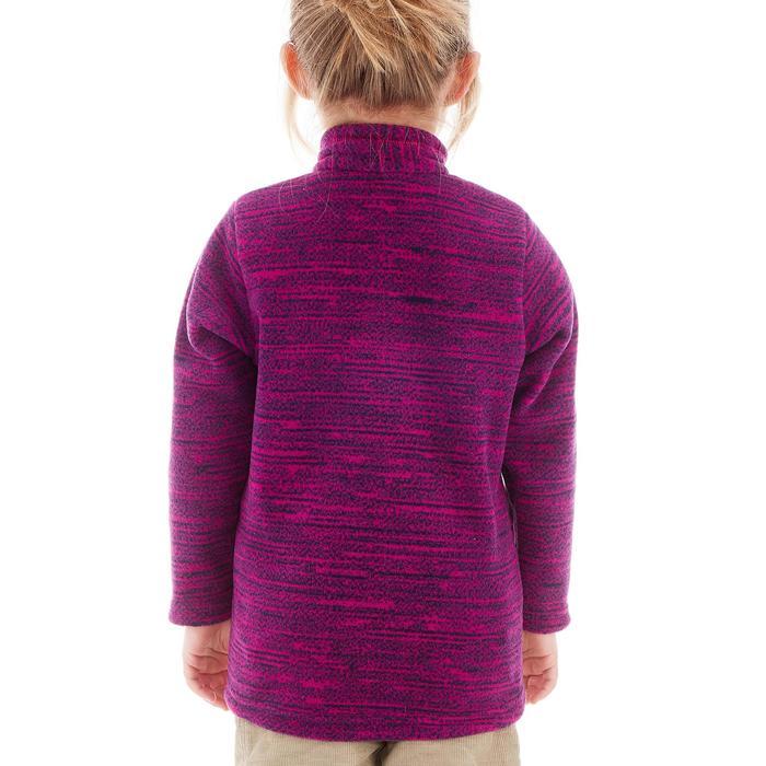 Fleecepullover MH120 Kinder violett