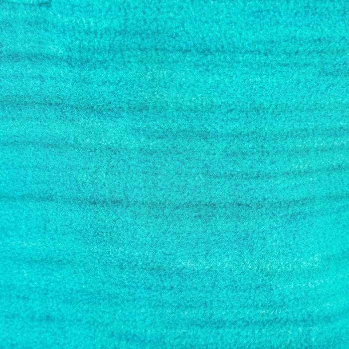 女孩款兒童健行刷毛立領上衣MH120-碧綠色
