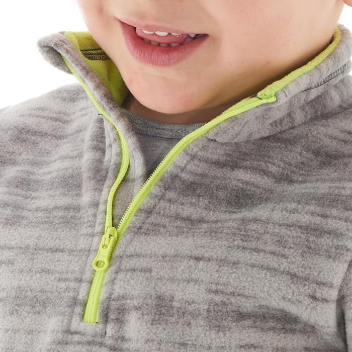 Wandelfleece voor kinderen MH120 grijs