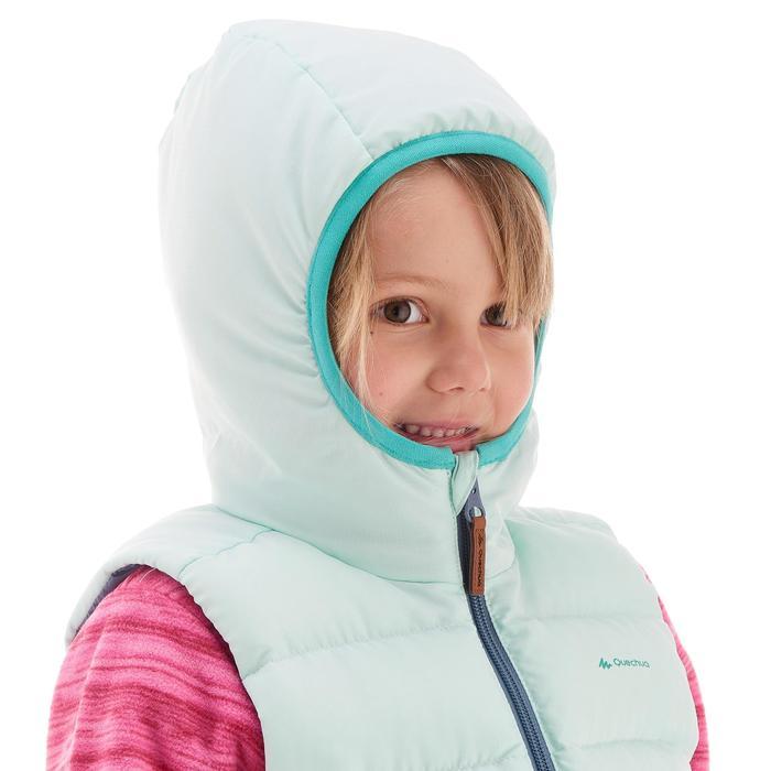 CN Gilet doudoune de randonnée enfant X-Warm bleu
