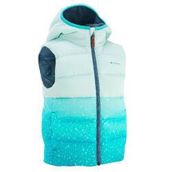 X-Warm 兒童健行運動襯墊式背心 藍色