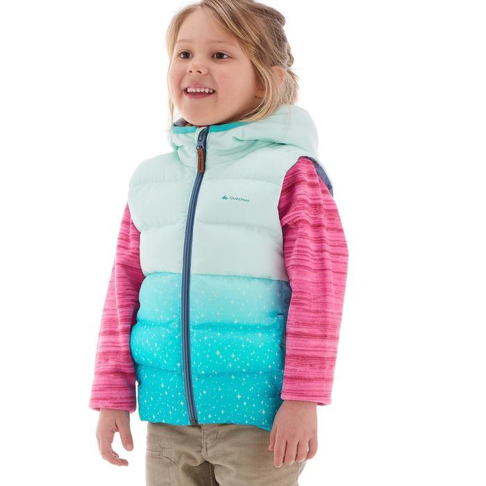 CN X-Warm Children's Hiking Padded Gilet - Blue