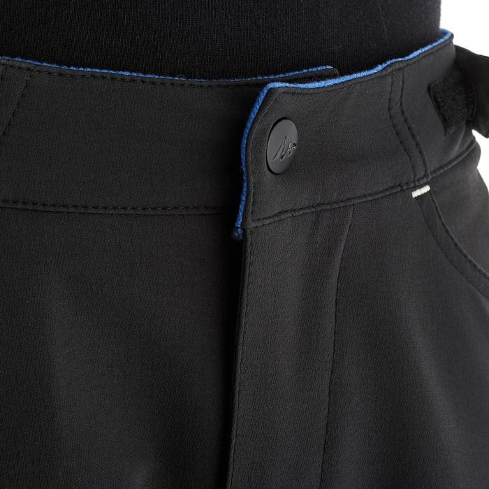 Pantalón de senderismo júnior MH 550 negro