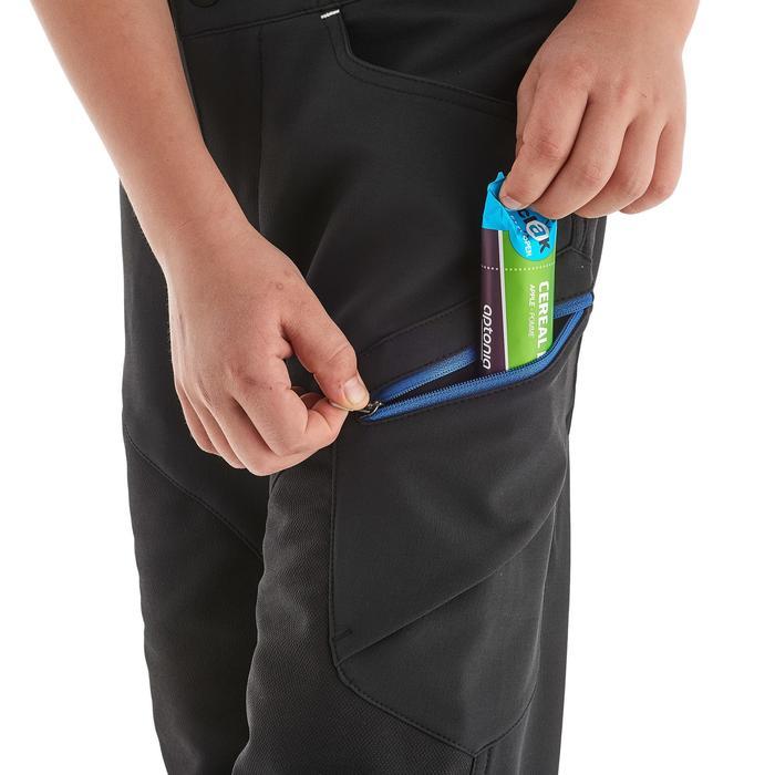 Pantalon de randonnée enfant MH500 noir 7- 15 ans