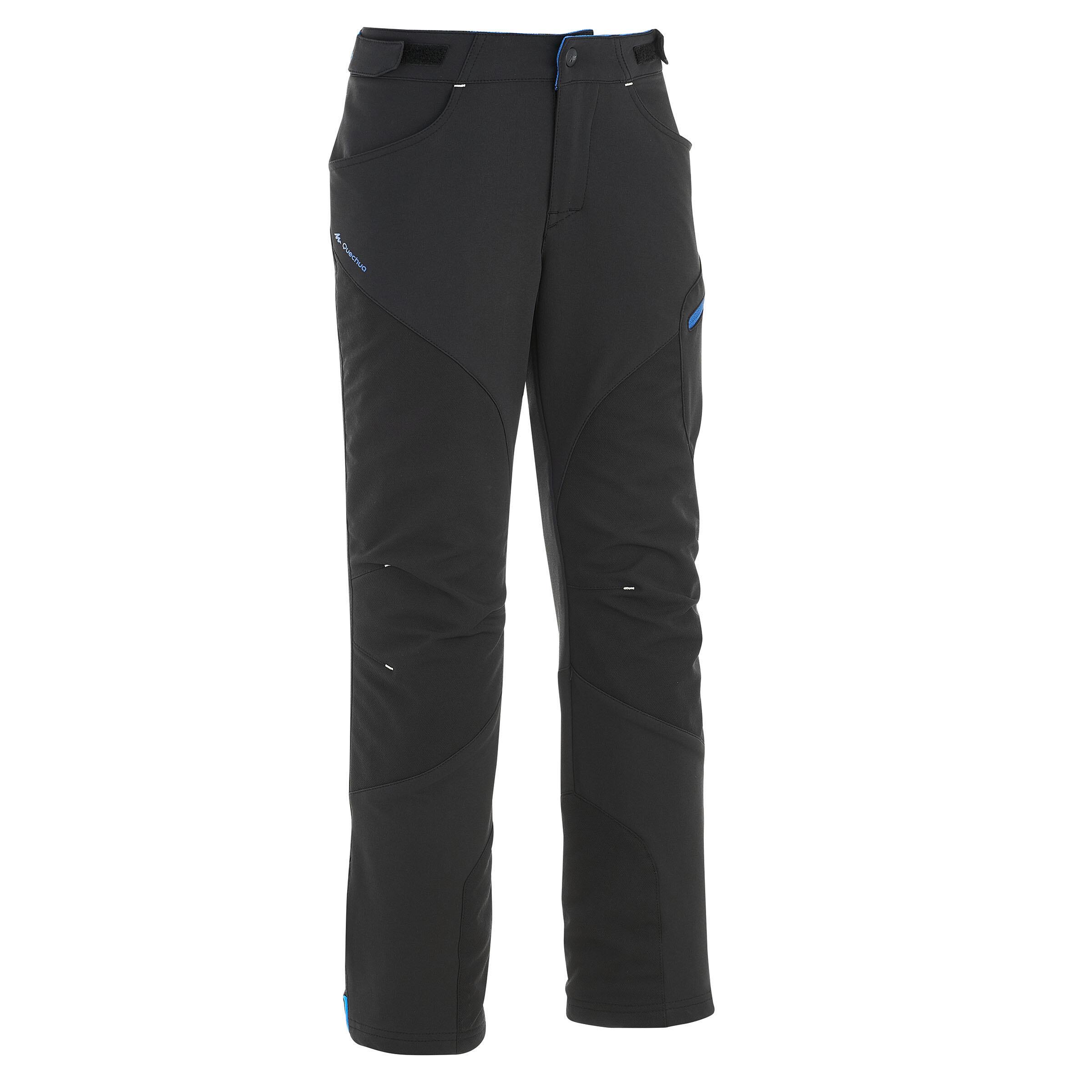 Pantalon MH500 Negru Băieți