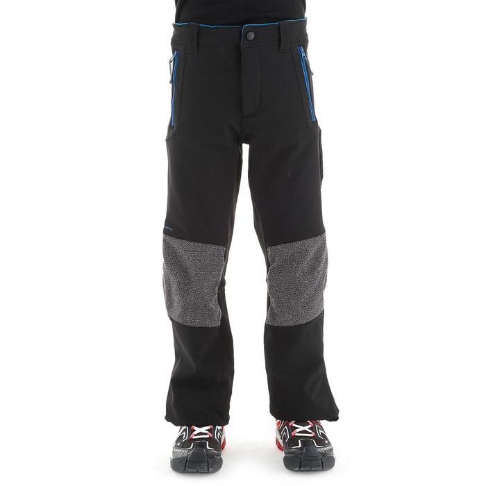 Pantalón travesía niño Hike 900 negro