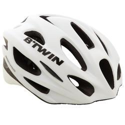 Fahrradhelm Rennrad 500 weiß
