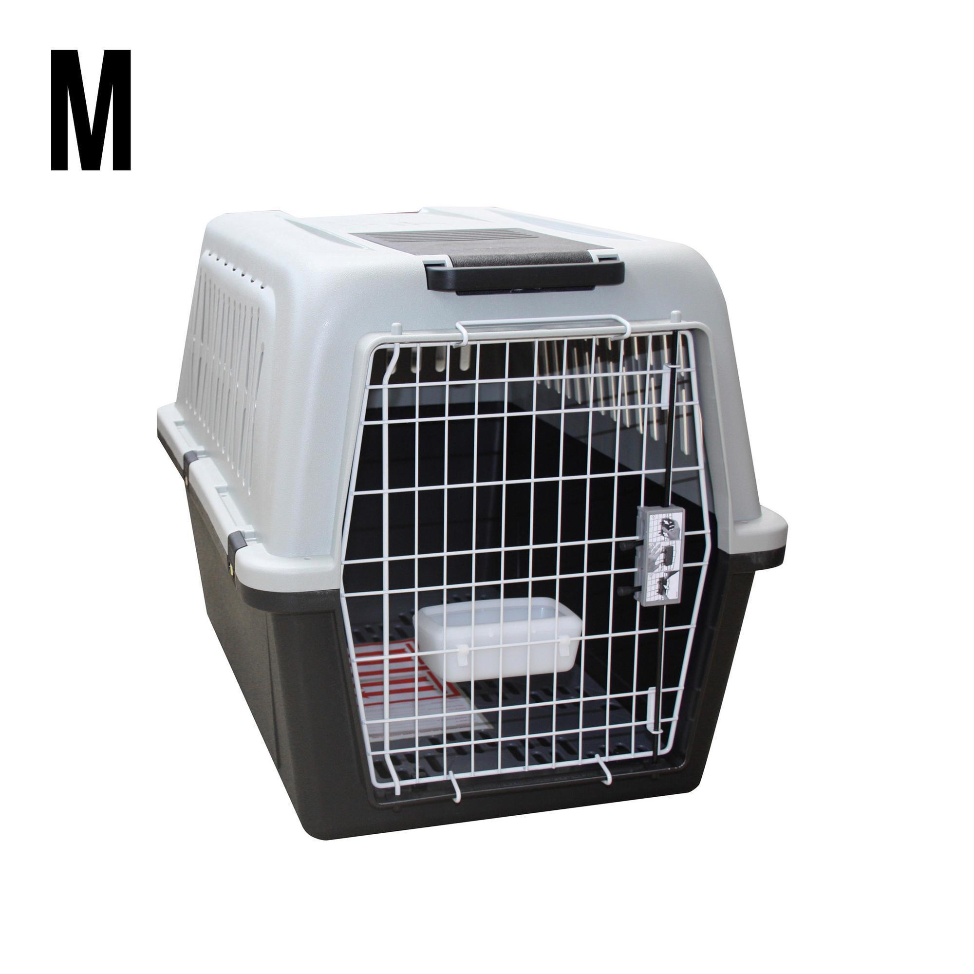 caisse de transport pour chien taille m solognac. Black Bedroom Furniture Sets. Home Design Ideas