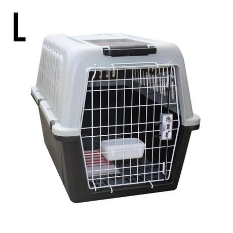 caisse de transport pour chien taille l solognac. Black Bedroom Furniture Sets. Home Design Ideas