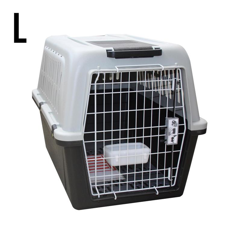 Caixa de Transporte para 1 Cão Tamanho L 81 x 55,5 x 58 cm - Norma IATA