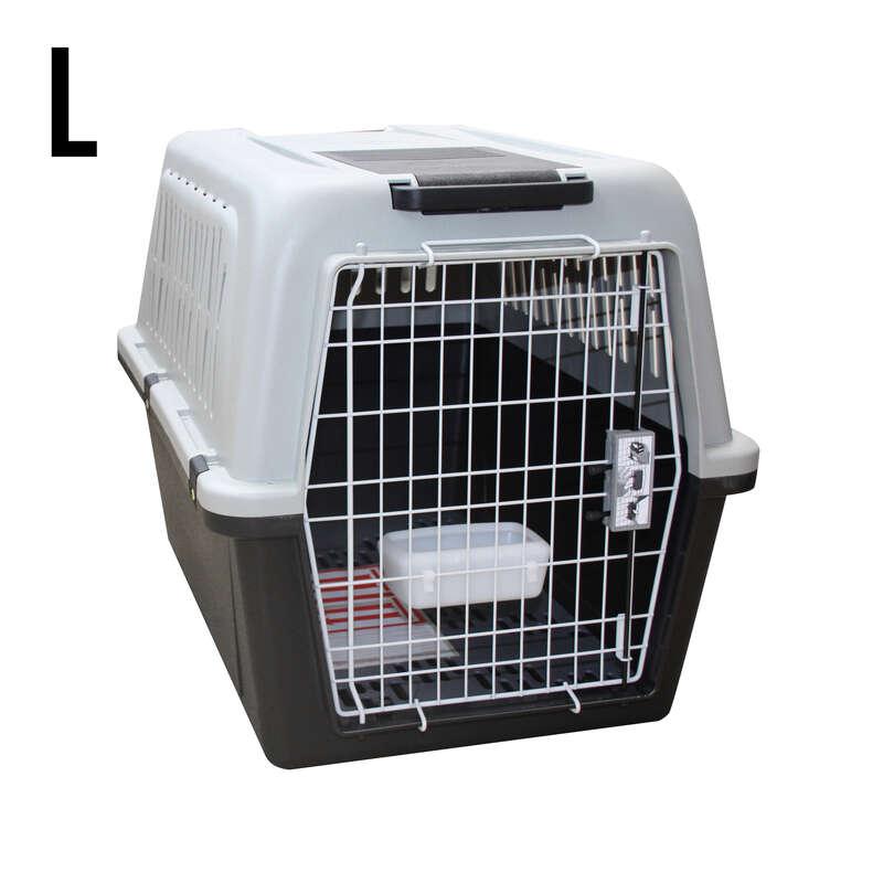 TRANSPORT LOVECKÝCH PSŮ Myslivost a lovectví - PŘEPRAVNÍ BOX PRO PSA L  SOLOGNAC - Potřeby pro lovecké psy
