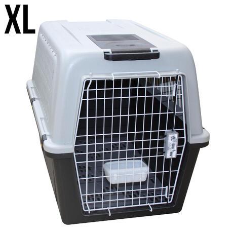 caisse transport pour chien taille xl solognac. Black Bedroom Furniture Sets. Home Design Ideas