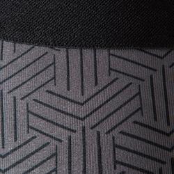 Keepdry 成人透氣緊身褲- 黑色/灰色