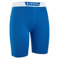 Sous short de football enfant Keepdry 100 bleu