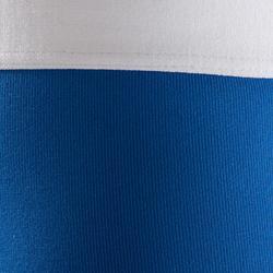Short térmico de fútbol júnior Keepdry 100 azul