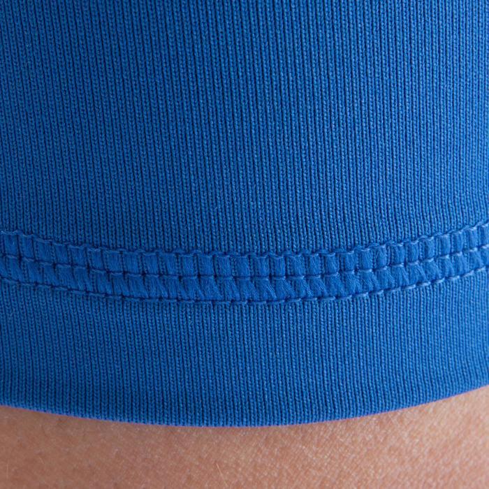Funktionsshorts Keepdry 100 atmungsaktiv Kinder blau