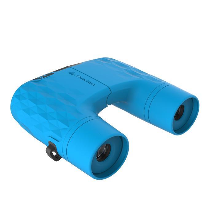 Wandelverrekijker voor kinderen Fix Focus MH B 100 vergroting x 6 blauw