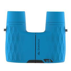 Fernglas ohne Einstellen MH B 100 6-fach-Vergrößerung blau