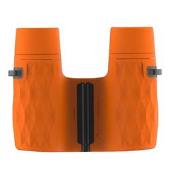 Primáticos Junior Senderismo Quechua MH B 100 Aumento X6 Sin Ajuste Naranja