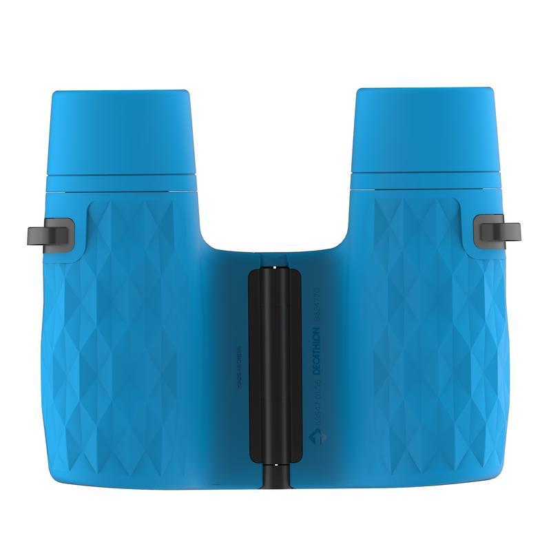 Kids Hiking binoculars x6 magnification without adjustment - MH B100 - Blue