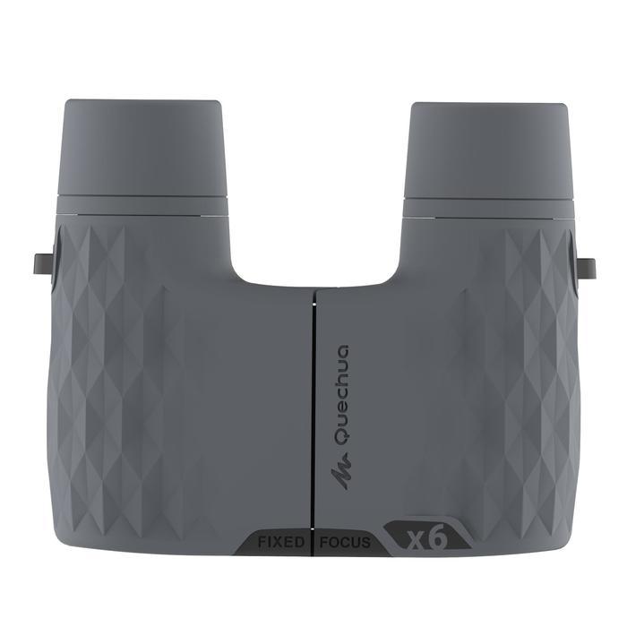 Fernglas ohne Einstellen MH B 100 6-fach-Vergrößerung grau
