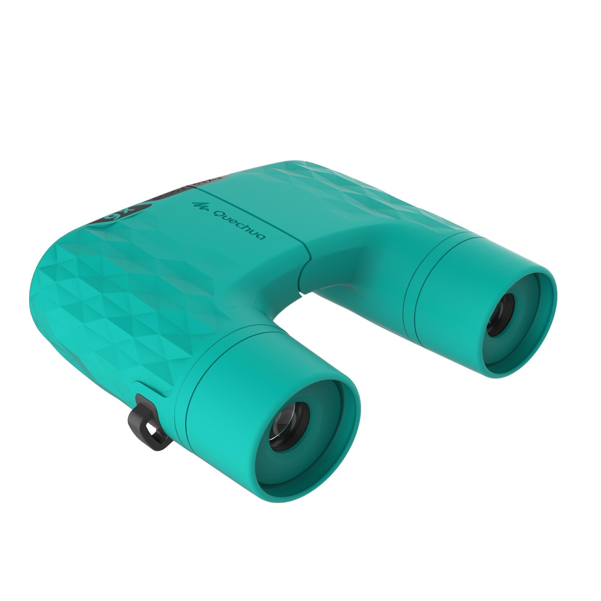 MH B 100 Fixed Focus Adult Hiking x6 Magnification Binoculars - Green