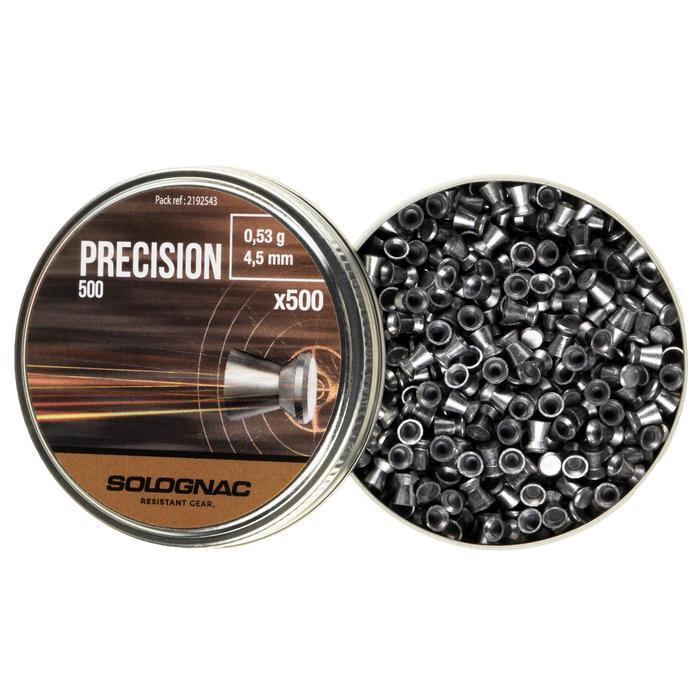 Perdigones Tiro Deportivo Solognac Precision Calibre 4,5 mm 500 Unidades