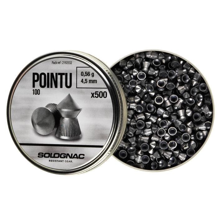PLOMB POINTU 4,5mm X500