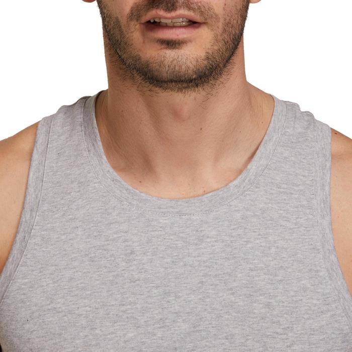Débardeur coton respirant Gym & Pilates homme - 1190053