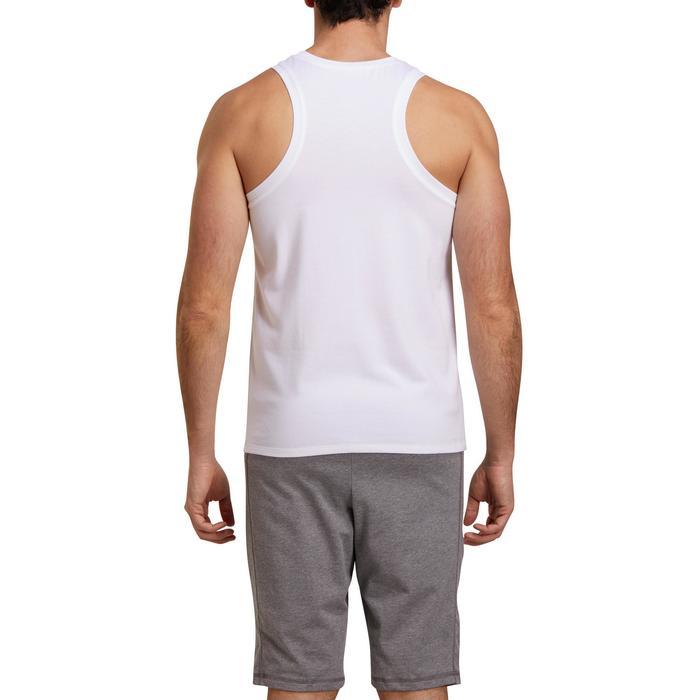 Débardeur coton respirant Gym & Pilates homme - 1190068