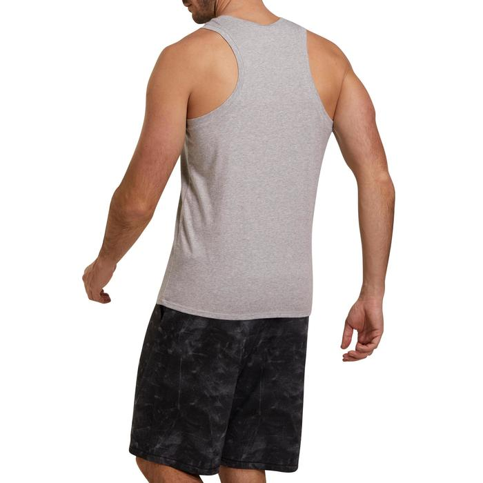 Débardeur coton respirant Gym & Pilates homme - 1190072