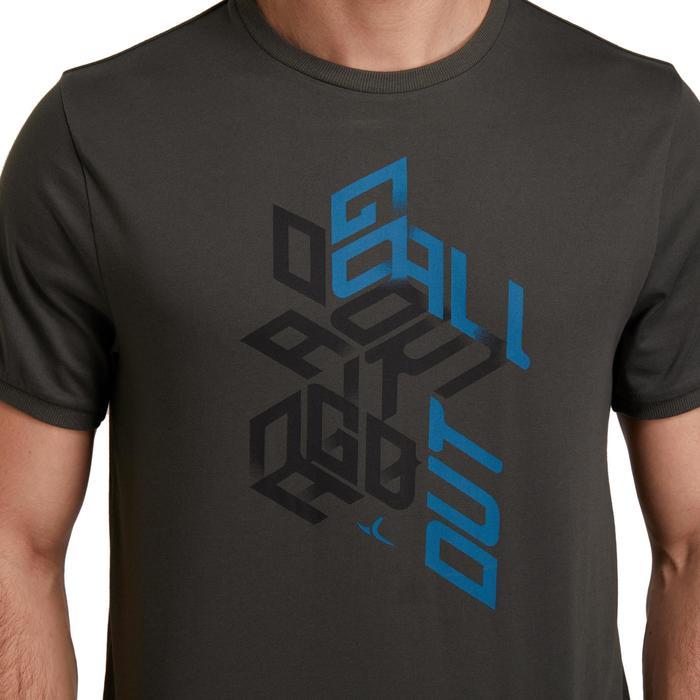 T Shirt regular imprimé Gym & Pilates homme - 1190080