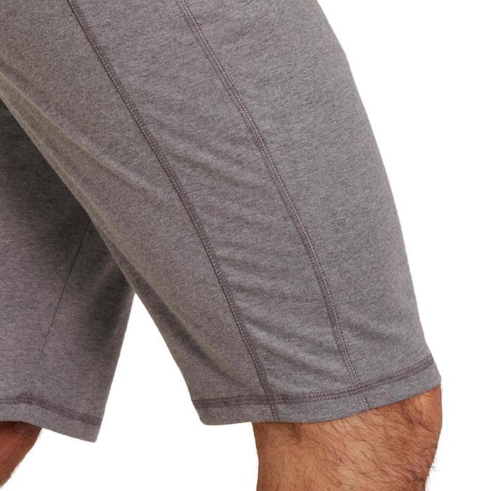Short slim à hauteur de genou Gym & Pilates homme - 1190087
