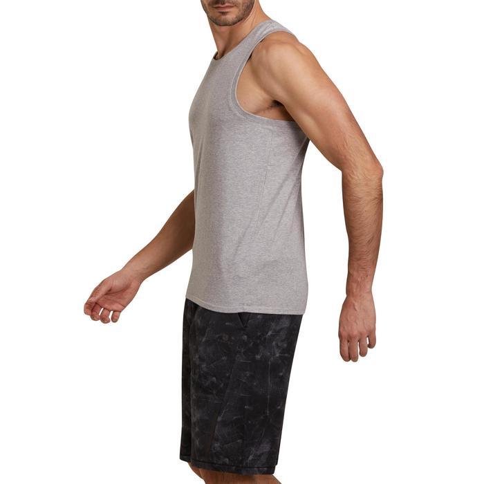 Débardeur coton respirant Gym & Pilates homme - 1190101