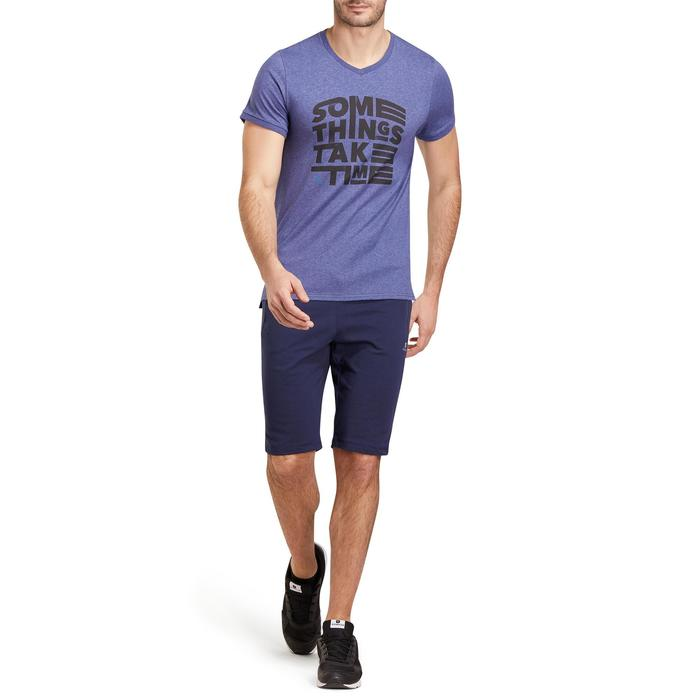 Short slim à hauteur de genou Gym & Pilates homme - 1190109