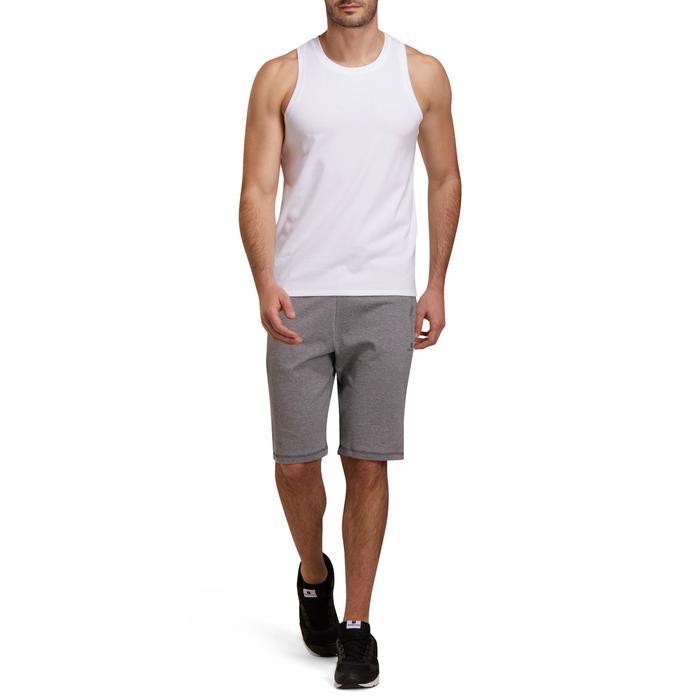 Short slim à hauteur de genou Gym & Pilates homme - 1190127