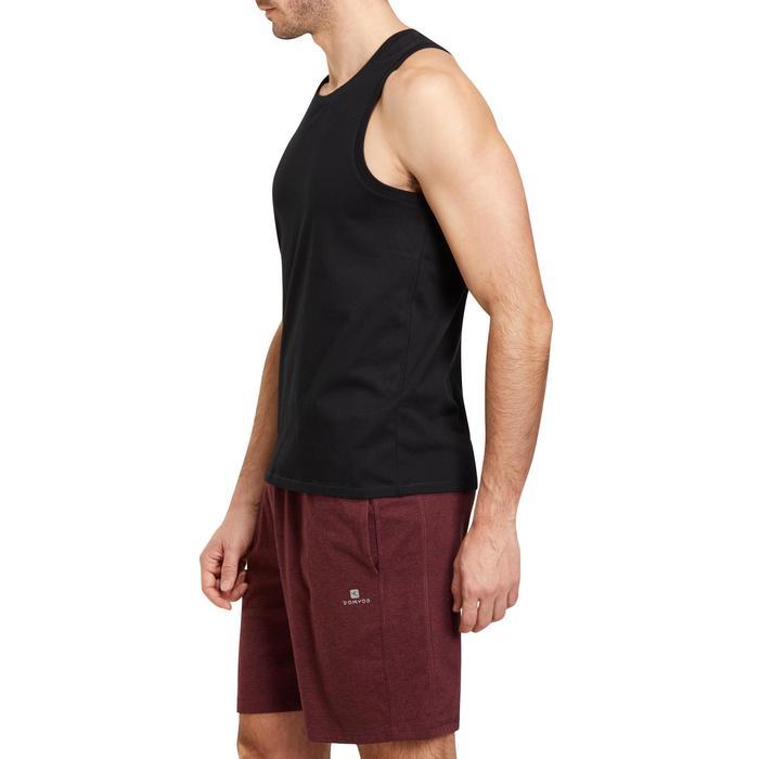 Débardeur coton respirant Gym & Pilates homme - 1190133