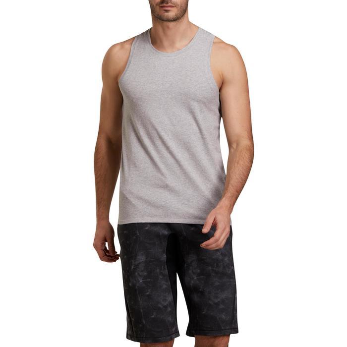 Débardeur coton respirant Gym & Pilates homme - 1190136