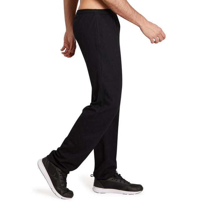 Pantalon jersey regular Gym & Pilates homme gris foncé - 1190153